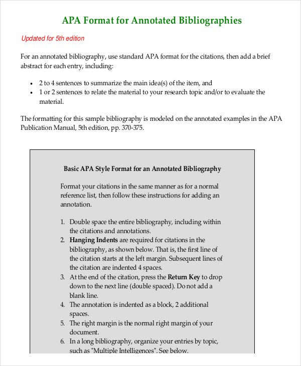 annotated bibliography apa website no author An annotated bibliography is a list of citations evaluate the authority or background of the author  the following example uses the apa format for the journal.
